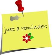 Building Reminders