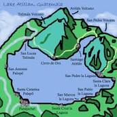 Dia 4...Miercoles 20. Exploramos los misteriosos pueblos del lago sagrado. Todos tienen el nombre de un apóstol.