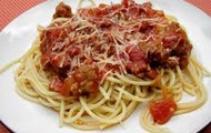 Spaghetti is my favorite food.