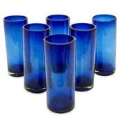 COBALT COLORED GLASS