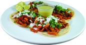 Tacos al pastor (pork tacos )