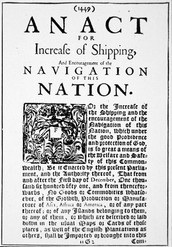 Navigation Acts and Smuggling