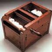 The Gin makes cleaning cotton twenty times faster than before.