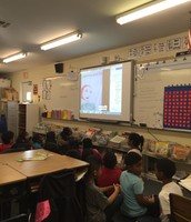 Ms. Addison's students created animated chatterbox cartoons to review Social Studies content.