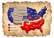 The states of the Confederacy :