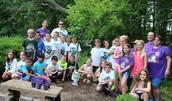 Tree Planting in Ashley's Garden