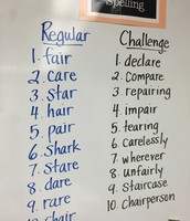 """Not just the ordinary...creating a """"challenge"""" task"""