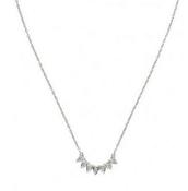 Aurora necklace silver