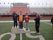 Alex gets his medal!