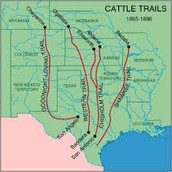 Destination of many cattle trails