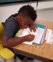 Look at that writing stamina!