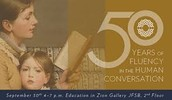 FHE Next Monday: 50 Years of Fluency in the Human Conversation