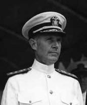 Admiral  Raymond Spraunce