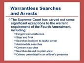 Police must have a good reason for searching your home and possessions.