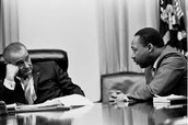 LDJ and MLK talking over selma