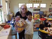 Congratulations to Madhav, Kindergartener in Willow!