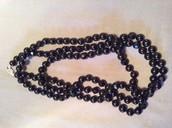 Black la coco necklace