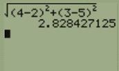 distance between C,D