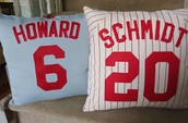 Jamie's Project: Jersey Pillow