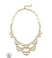 Frances Pearl Statement Necklace