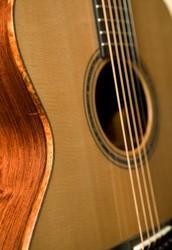 Handmade custom acoustic guitars
