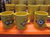 The Funny Faced Minion Mugs