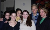 Stephenie Meyer and Cast