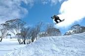 SNOW BOARDING!