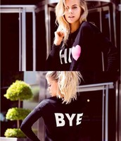Sweater Hi Bye