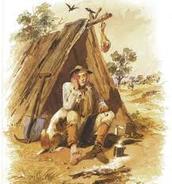 a dirty lonley man