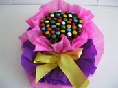 Torta de Cuchufli rellenos de exquisito manjar y medio baño de chocolate