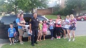 National Night Out with Officer Cabrera