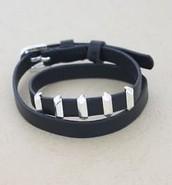 SOLD / Remy Wrap Bracelet - $15