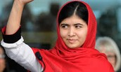 Malala Getting Interviewed