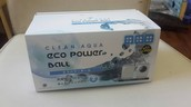 CLEAN AQUA eco power ball 奈米環保洗衣球 (2顆/1盒裝)