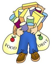 Student Council Food Drive Underway Until Friday, November 13th