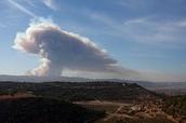 כיצד השריפה השפיעה על זיהום האוויר?