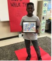 Ms. King's students walked the red carpet!