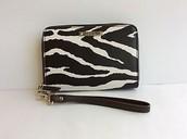 Zebra Chelsea Tech Wallet