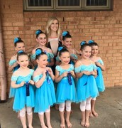 My dance troupe