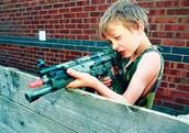 Kids Love Guns!