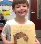 V is for Noah...