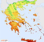 Ancient Greece Climate Map