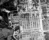 Aerial View of Birkenau