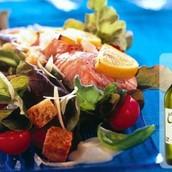 Caesari salat forelliga