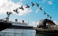 Motor Bike Jump sequence