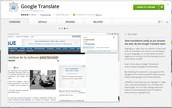 Google Translate Chrome Extension