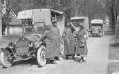 Ambulance crew or medical crew