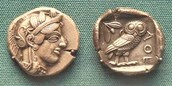 Some Athenian Coins