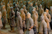 Terra Cotta Warriors.